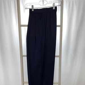 Nordstrom Trousers - Wool Gabardine, Navy